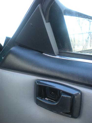 1987-93 Mustang Mirror Hole Cover Kit