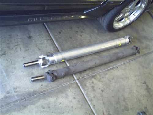 1979-95 Mustang Ford Racing Aluminum Driveshaft, M-4602-G